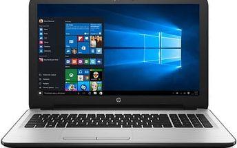 Notebook HP 15-ba078nc (Z5B99EA#BCM) stříbrný/bílý