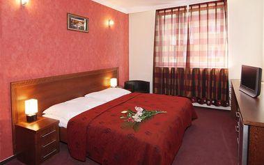 Praha, Hotel Relax Inn**** na 2 nebo 3 dny pro 2 osoby se snídaněmi a privátním wellness