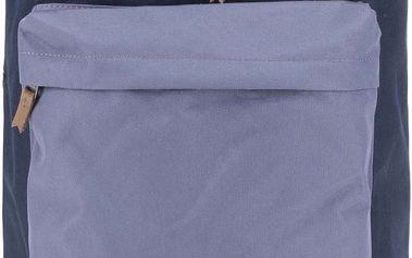 Tmavě modrý pánský batoh s detaily Quiksilver Rucksack