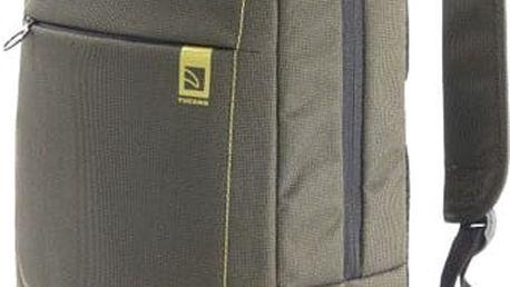 "TUCANO batoh Loop na notebook do 15,6"", zelená - TU-BKLOOP15-V"