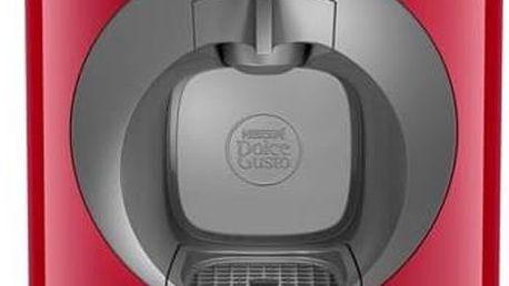 Espresso Krups NESCAFÉ® Dolce Gusto™ Oblo KP110531 červené Kapsle NESCAFÉ Caffe Lungo 16 ks k Dolce Gusto (zdarma)