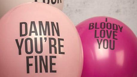 Sprosté zamilované balónky