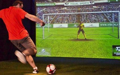 Multifunkční simulátor Visual sports pro 2–4 hráče
