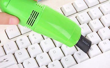 USB vysavač na klávesnici - 6 barev