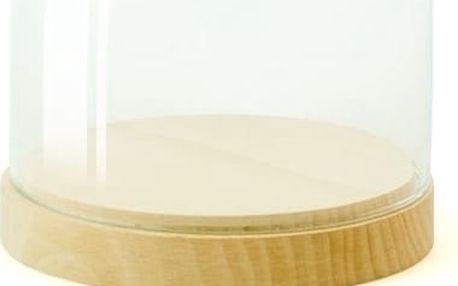 Skleněná vitrínka Wireworks Pleasure Dome Beech, 13 cm