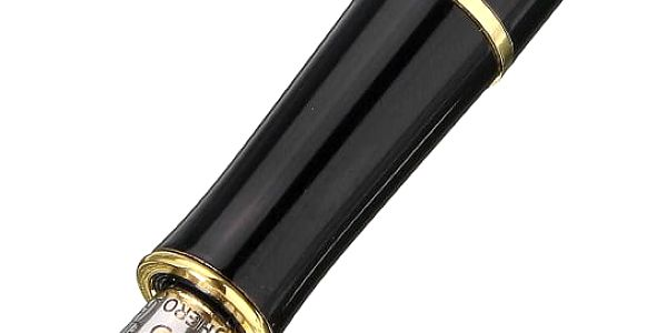 Plnící kaligrafické pero se zdobeným hrotem