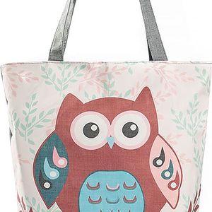 Fashion Icon Dámská taška Red velká sova