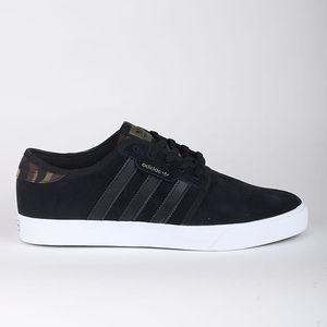 Boty adidas Originals SEELEY 44 Černá