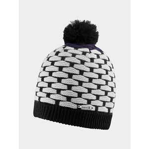 Čepice Salomon POLY BEANIE BLACK/White/NIGHTSHADE GREY UNI Barevná