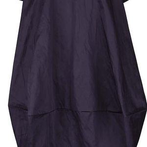 Fialovomodré volnější balónové šaty s kapsami Bianca Popp