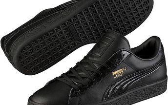 Boty Puma Basket Classic Animal Croc Black 44 Černá