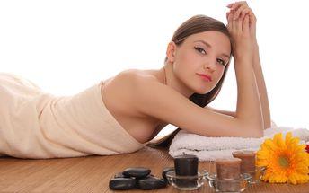 90 minut uvolňující relaxční masáže