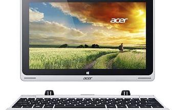 Dotykový tablet Acer Switch 10 (NT.L4SEC.005) stříbrný
