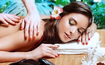 60minutová holistická havajská masáž těla
