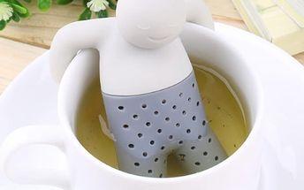 Originální čajové sítko Mr. Tea, Král čaje, vychutnejte si svů šálek čaje s milým panáčkem.