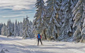 Zima v krkonošské Velké Úpě s chutnou polopenzí