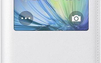 Samsung pouzdro S-view EF-CA500B pro Galaxy A5 (SM-A500), bílá - EF-CA500BWEGWW