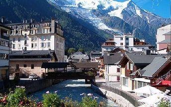 Mont Blanc, Chamonix, Ženeva - zájezd pro 1 osobu, doprava autobusem, průvodce.