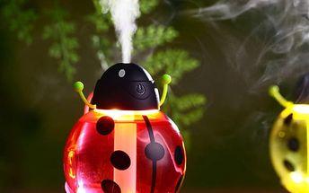 Osvěžovač vzduchu ve tvaru berušky