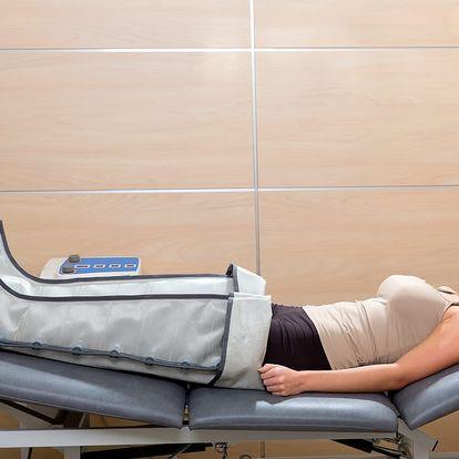 50min. přístrojová lymfodrenáž horní nebo dolní poloviny těla: až 6 ošetření