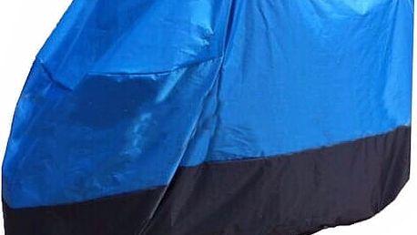 Plachta na motocykl - 3 velikosti, modro-černá