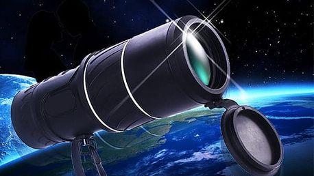 Monokulární dalekohled s ochranným pouzdrem
