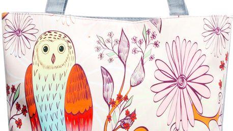 Fashion Icon Plátěná taška velká sova