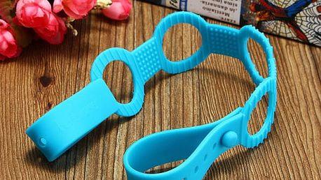 Silikonový držák na dudlík a hračky - 4 barvy