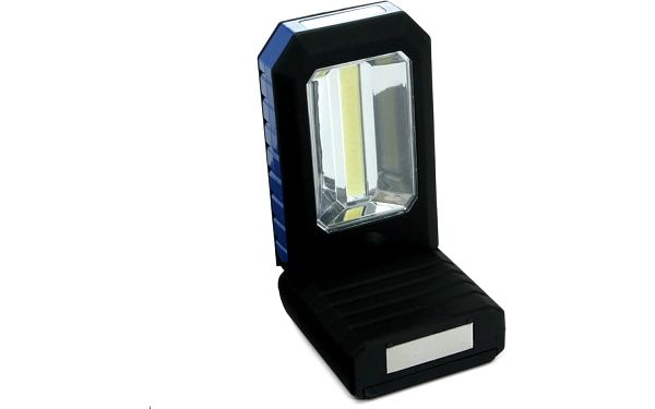 Pracovní LED svítidlo s magnetem a háčkem