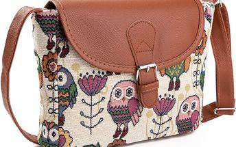 Fashion Icon Dámská kabelka Sovy růžové