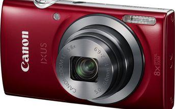 Digitální kompakt Canon IXUS 160 Red