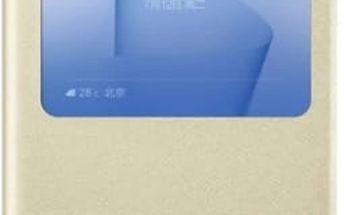 Pouzdro na mobil flipové Honor 8 Smart Cover (51991683) zlaté