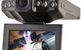 Kamera do auta s LCD monitorem: na výběr 2 typy kamer