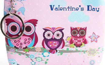 Peněženka Happy Owl sovičky mini na drobné mince