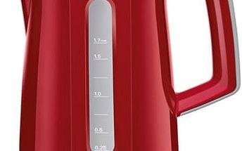 Rychlovarná konvice Bosch TWK3A014 červená