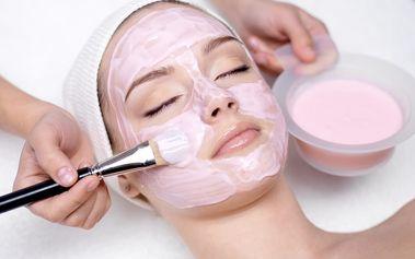 Hloubkové ošetření pleti: maska, masáž obličeje a dekoltu + možná galvanoterapie/mezoterapie