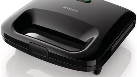 Sendvičovač Philips HD2395/90 černý