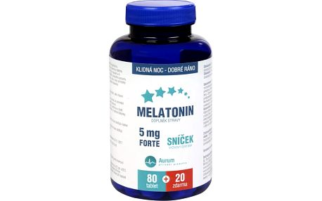 Melatonin 5mg FORTE 100 tbl.