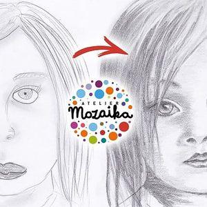 Víkendový kurz kreslení pravou mozkovou hemisférou od Atelieru Mozaika po celé ČR