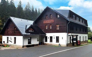 3–6denní pobyt s polopenzí na Šumavě v penzionu Panský dům pro 2 osoby