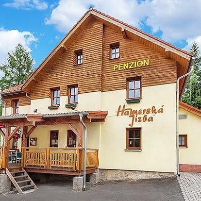 3 až 6denní pobyt s polopenzí v penzionu Hamerská Jizba v Krušných horách pro 2