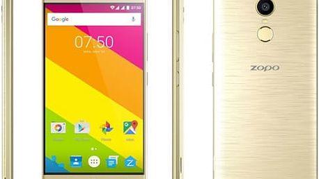 Mobilní telefon Zopo Color F2 (6955931905150) zlatý