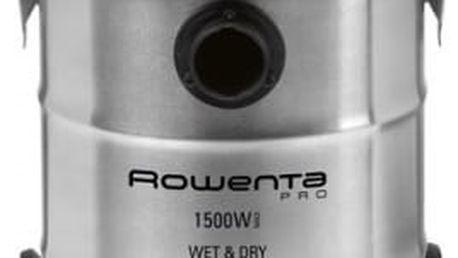 Vysavač víceúčelový Rowenta RU5053EH nerez/oranžový