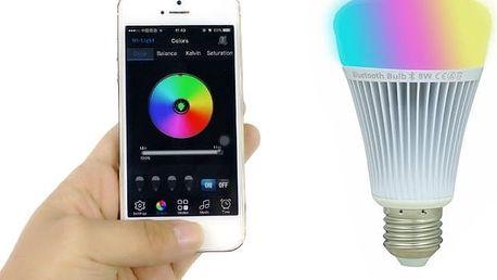 Mi-light RGB LED žárovka na bluetooth ovládaní pomocí chytrého telefonu