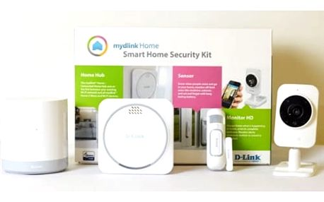 Kompletní sada D-Link mydlink™ Home Security Starter Kit (DCH-107KT)