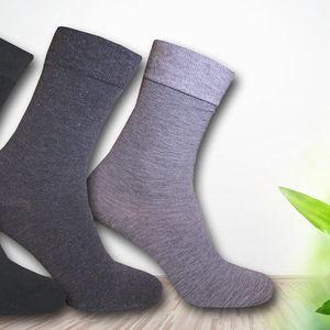 Nohy v teple: vysoké bambusové ponožky Pesail