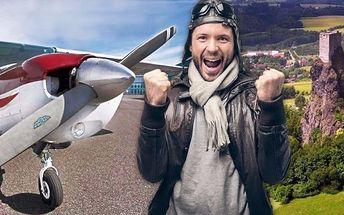 Seznamovací let v letadlech Cessna vč. pilotování