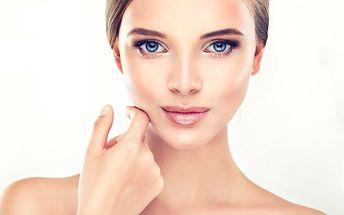 Kosmetické ošetření s diamantovou mikrodermabrazí