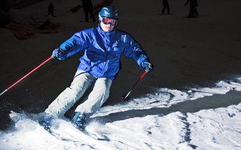 Zimní romantika: Večerní lyžovačka v Beskydech