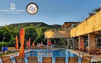 TOP wellness v Hotelu Visegrad Superior **** s polopenzí a volným vstupem do bazénů pro 1 osobu za nejnižší ceny